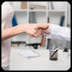 Chiropractic Redlands CA Doctor Shaking Patients Hand